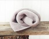 Pearl grey alpaca knitted baby blanket, baby shower gift, Knit blankets, Alpaca blanket, Knitted girl throw, Stroller blanket,Winter Blanket