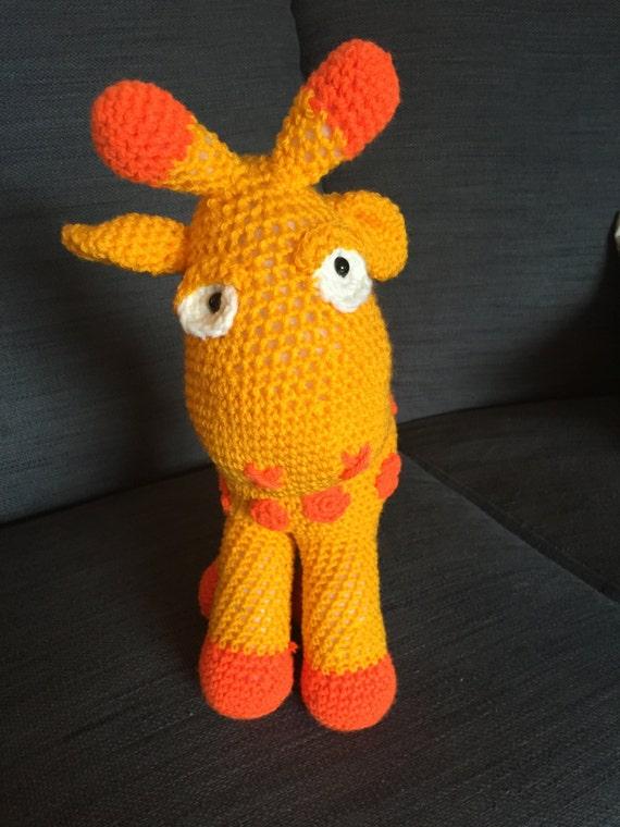Cuddly Amigurumi Giraffe : Crochet Giraffe Cuddly Toy