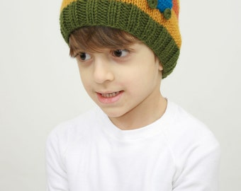 autumn/winter hat for boys