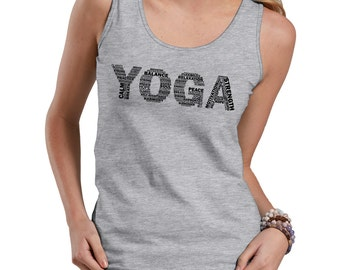 Yoga Tank Top Gift For Yoga Instructor Womens Tank Top