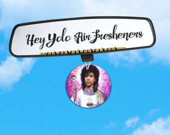 Prince Air Freshener - Long Live the Memory of Prince - Car Freshener for Your Prince Love