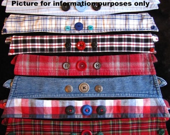 Special Price for 10 LARGE dog collars - 38 cm / 15 '' to 46 cm / 18 ''