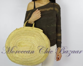 BASKET Taliouine tote bag / Shopping Bag / basket of beach / handbag / Moroccan.