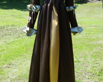 "Italian Renaissance Gown ""The French Mistress"" Handmade"