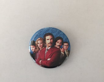 Anchorman Pinback Button