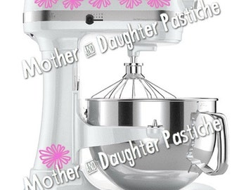 Pyrex Inspired Daisy Mixer Decal