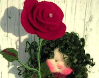 Flower girl rose