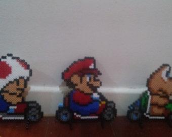 Mario kart beads