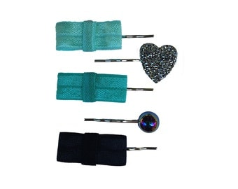 Favorite Bow Hair Pin Set