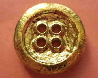 10 buttons gold 20mm (236) button