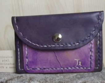 Purse purple tones