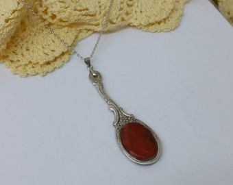 Silverware pendant flatware jewelry BH118