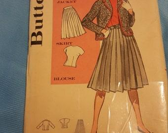 1950 Butterick #9467 size 11 UNCUT
