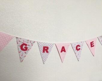 Personalised Fabric Bunting
