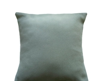 Moss Green Pillow Cover/ Olive Green Handmade Cushion Cover/Sage Accent Pillow