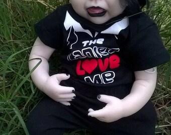 CUSTOM Goth or other Alternative Reborn Doll Newborn Size