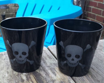 Skull Rocks Glasses