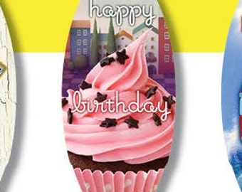 Happy Birthday Mini Surfboard