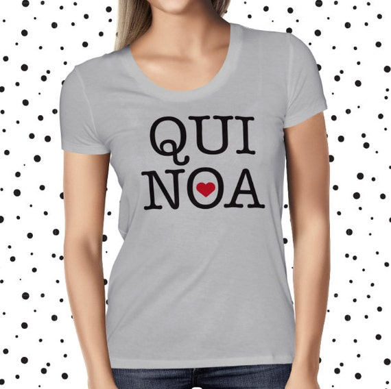 Cute Quinoa Shirt - Funny Quinoa Shirt - Vegan T Shirt - Vegan Shirt - Healthy T-shirt - Funny Tee - Vegetarian - Plant Based Shirt