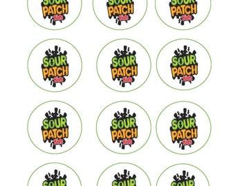 Sour Patch Kids Party Printables