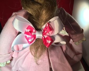 Little Pink Butterfly Bow