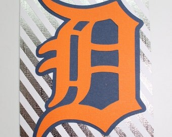 Detroit Tigers Greeting Card