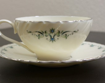 "Vintage Lenox ""Melissa"" Cup and Saucer"