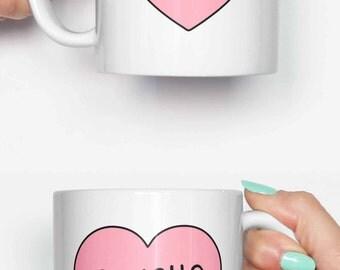 Psycho - funny mug, coffee mug, office mug, gifts for him, cute mug, birthday mug, gifts for her 4C064