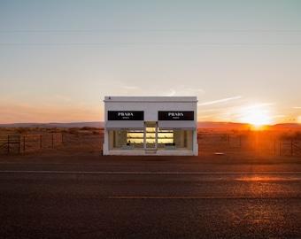 Prada Store. Marfa, TX.