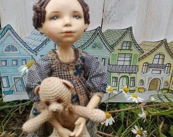 Doll handmede Masha