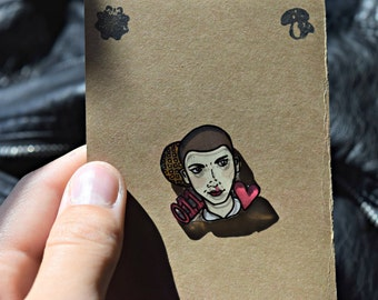 Eleven from Stranger Things Pin