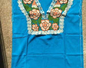 Authentic Mexican blouse from Chiapas