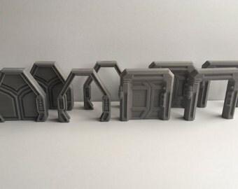 Star Wars Imperial Assault Doors – Set of 8