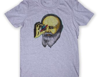 Galileo Galilei Shirt Science Geek Astronomer Space Physics College Major Student Graphic T-shirt