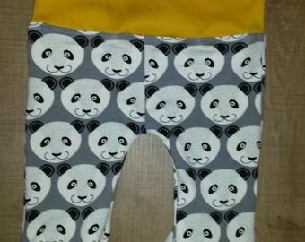 Panda baby pants