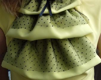 Sale collar for feminine, yellow, green, romantic, confident women