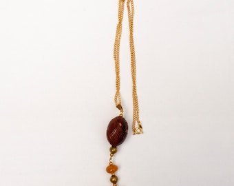 Necklace with Mixed Amber