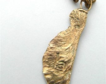 Brass Sycamore Necklace