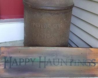 Happy hauntings