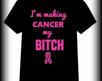 Cancer Awareness shirt, Cancer Shirt, Breast Cancer, Leukemia shirt, Fight For a Cure, Breast Cancer Awareness shirt, S, M, L, XL