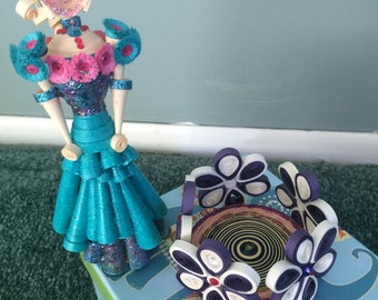 Paper Quilling Doll