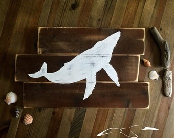 Humpback Whale Wall Decor