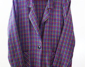 80s Blair Color Block Blazer
