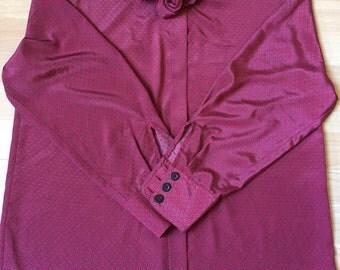 Women Shirt Bordeaux