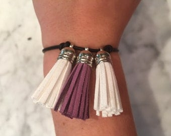 Triple Tassel Bracelet