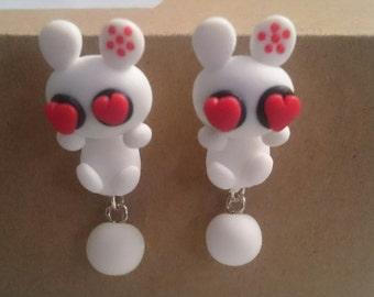 Love Bunny earrings