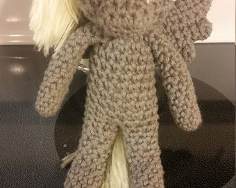 "My Little Pony Derpy Hooves ""Hearth's Warming Eve"" Crochet Doll"