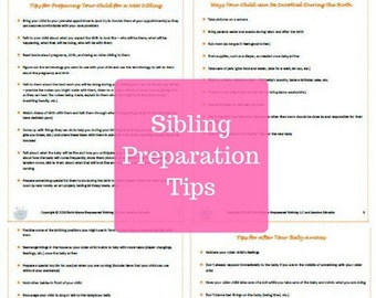 Sibling Preparation Tips