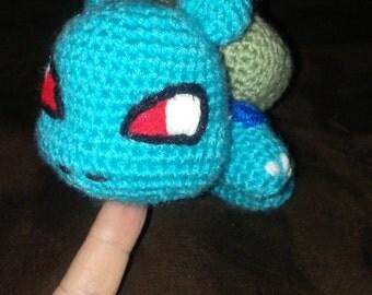 Crochet Pokemon Buldasaur