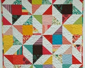 """48"""" x 60"""" Pre-Cut Quilt Kit - ready to assemble - Friendship Star - It's a Hoot by MoMo from Moda Fabrics"""